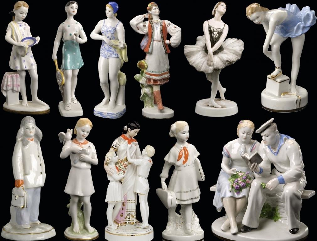 год картинки фарфоровых статуэток ссср публикуем