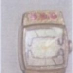 Часы женские без названия (корпус 27х18 мм)
